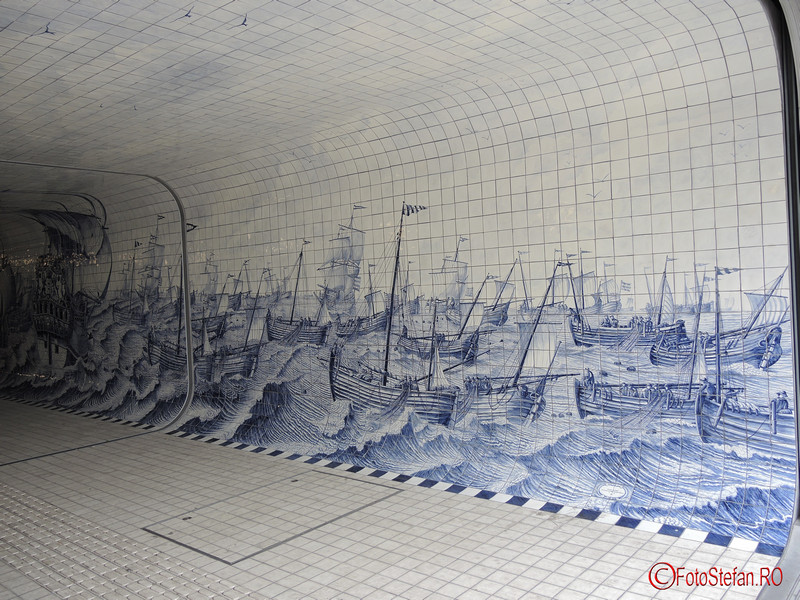 poza graffiti pasajul Cuyperspassage