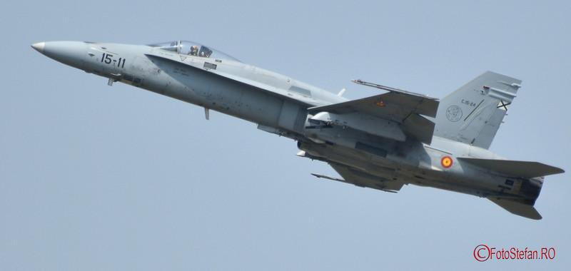 poza EF-18M Hornet fortele aeriene spaniole bias 2016
