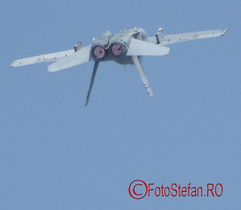 foto EF-18M Hornet airshow bucuresti
