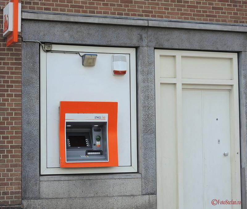 poza bancomat ING amsterdam