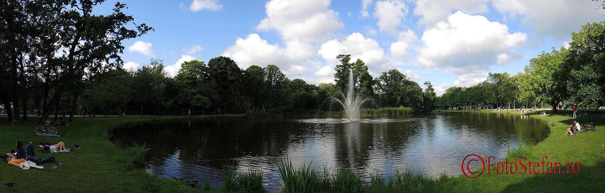 poza panoramica parcul Vondel