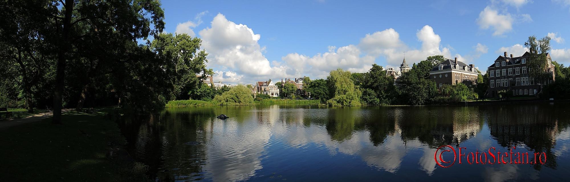 poza panoramica amsterdam parcul Vondel