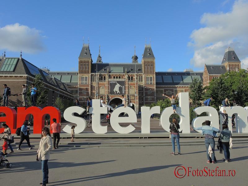 poza semn I amsterdam