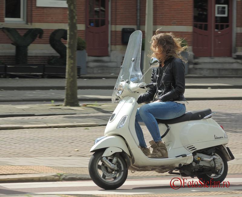 poza fata motoscuter amsterdam