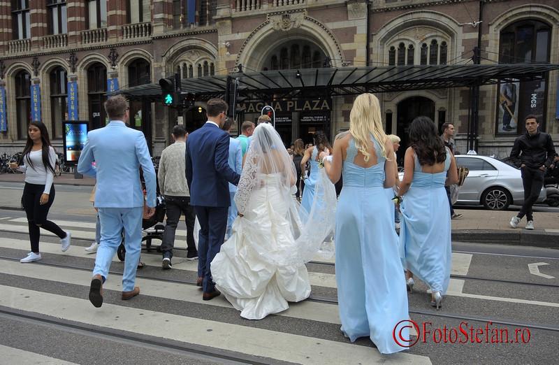 poza nunta mireasa amsterdam