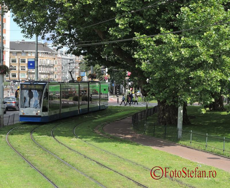poza tramvaie amsterdam