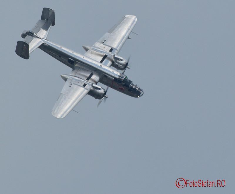 "poza B-25J ""Mitchell""  flying bulls bucuresti"