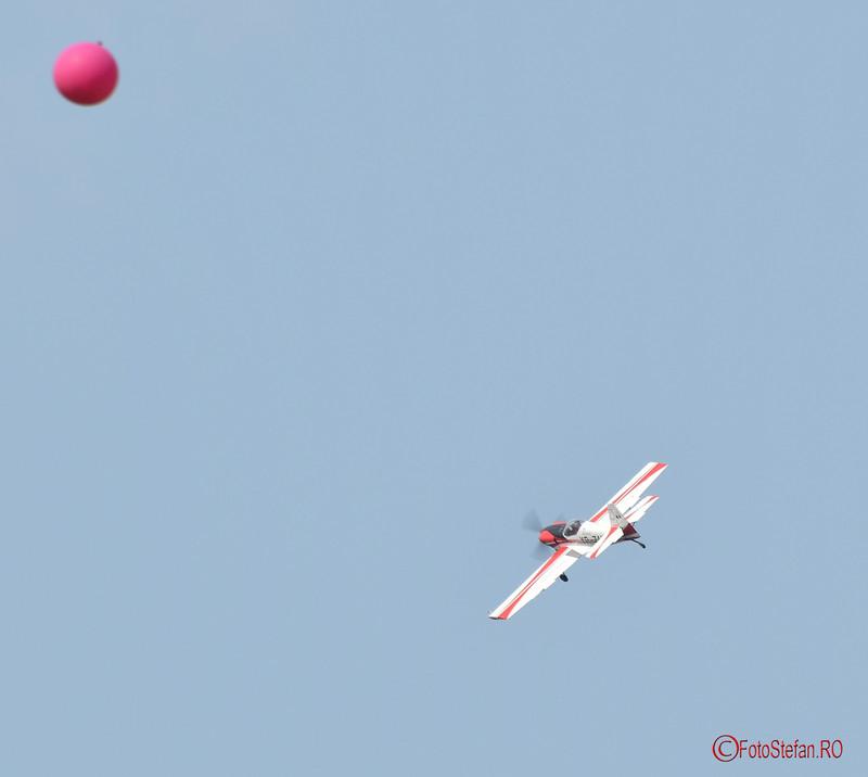 poza vion balon bucuresti