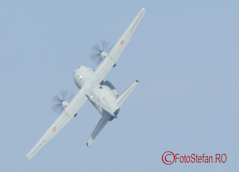 poza avion militar Alenia C-27J Spartan bucuresti spectacol aviatic