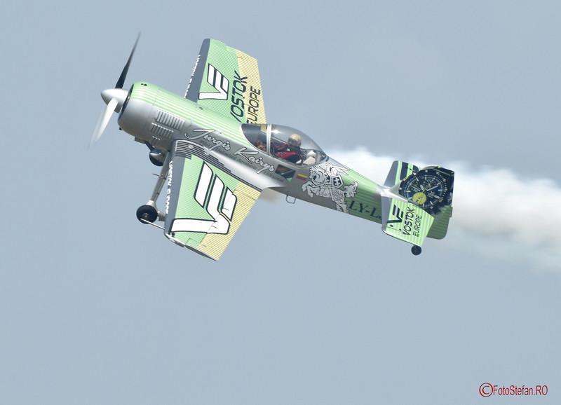 poza Jurgis Kairys show aviatic bucuresti