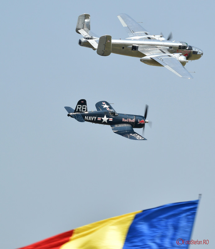 poza avioane flying bulls bucuresti air show