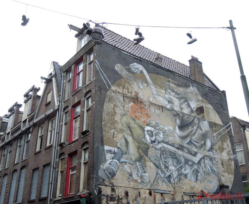 poza graffiti amsterdam