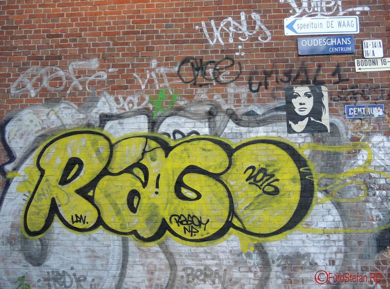 poza scris graffiti amsterdam olanda