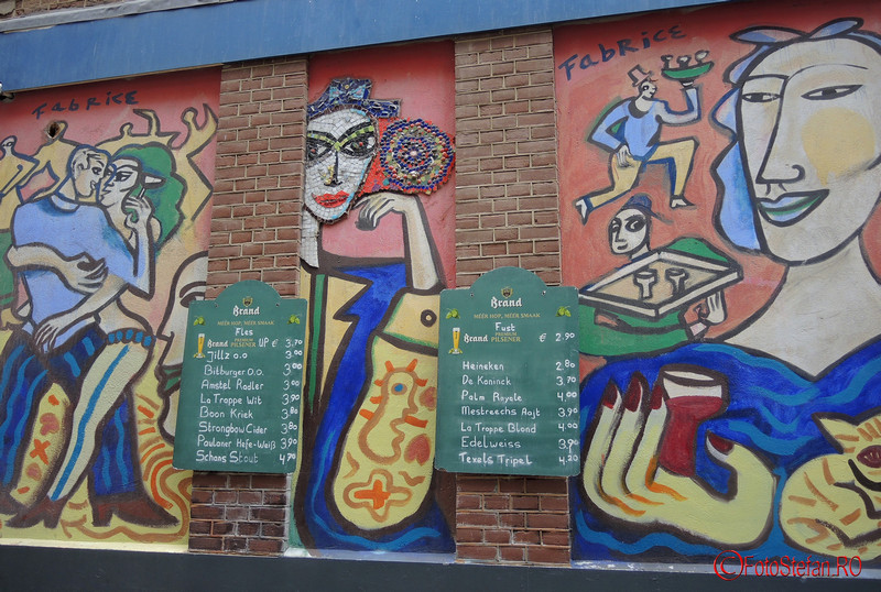 poza street art Amsterdam