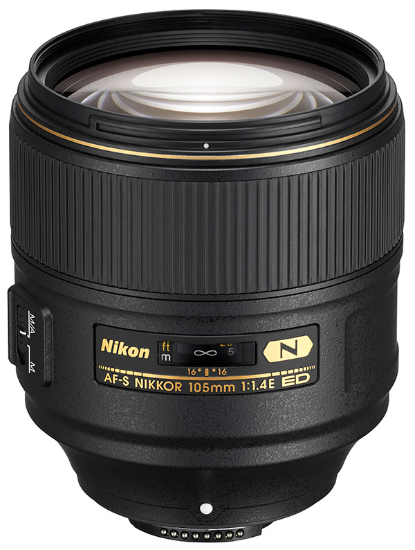 poza obiectiv Nikon 105mm f1.4 AF-S ED