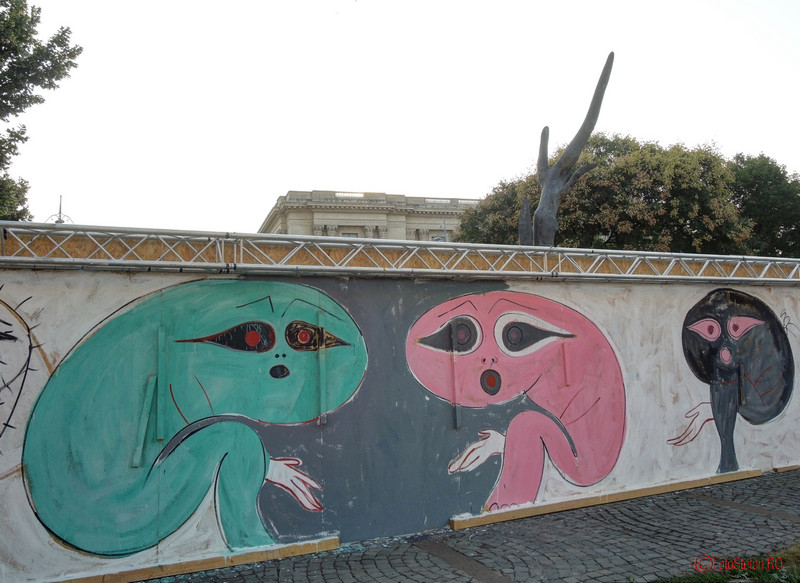 poza graffiti piata revolutiei