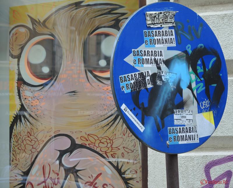 poza graffiti creaturi dragute basarabia e romania