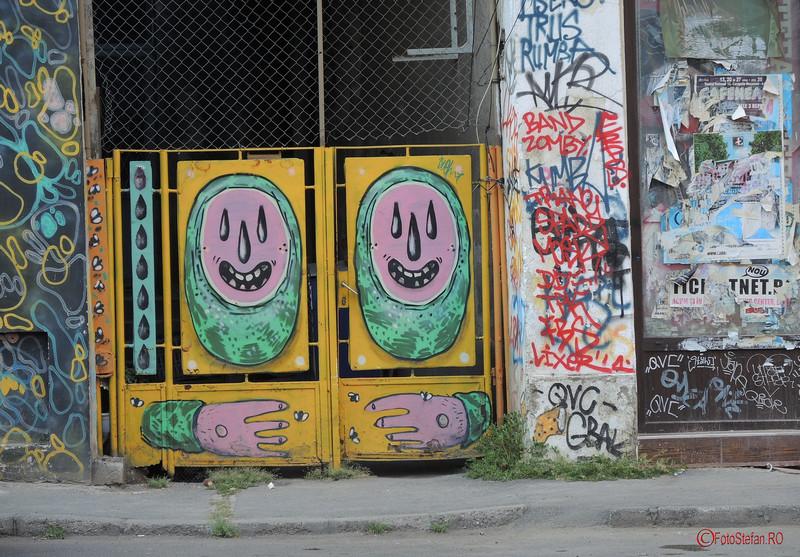 poza graffiti centrul istoric bucuresti