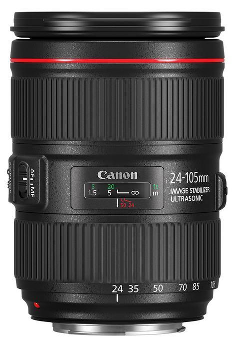 poza obiectiv Canon EF 24-105mm f/4 IS USM L II