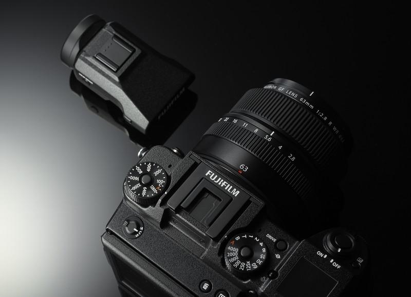 poza vizor electronic Fujifilm GFX 50S