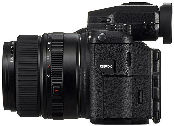poza mirrorless format mediu Fuji GFX 50S