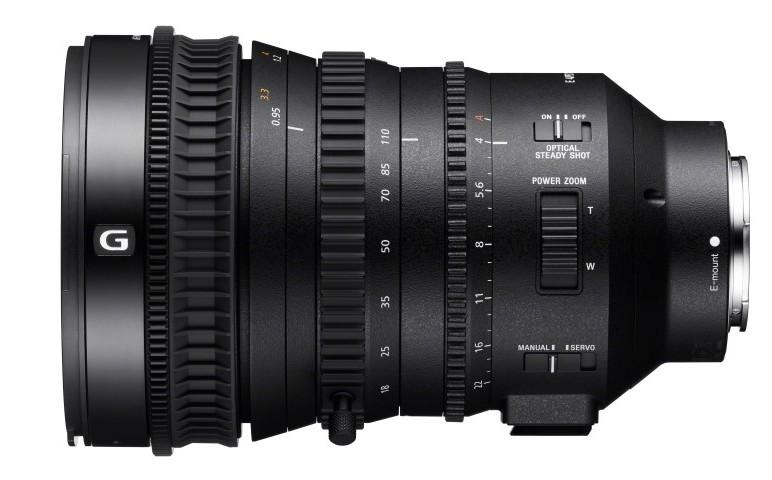 foto sony E PZ 18-110mm F4 G OSS