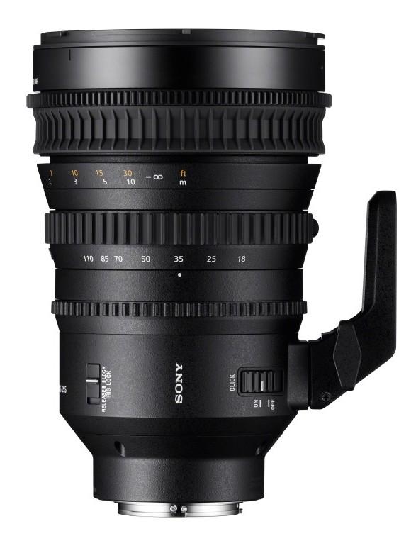 poza obiectiv 18-110mm Super 35mm/APS-C