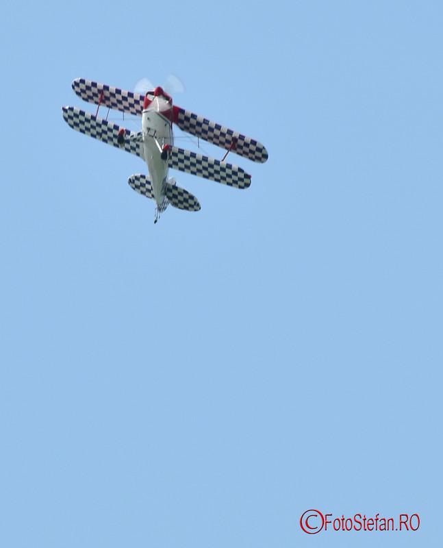 poza avion biplan Skeen Skybolt aeronautic show bucuresti