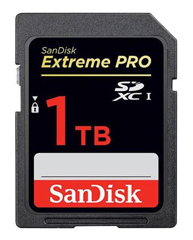 poza card de memorie SanDisk SDXC 1 TB