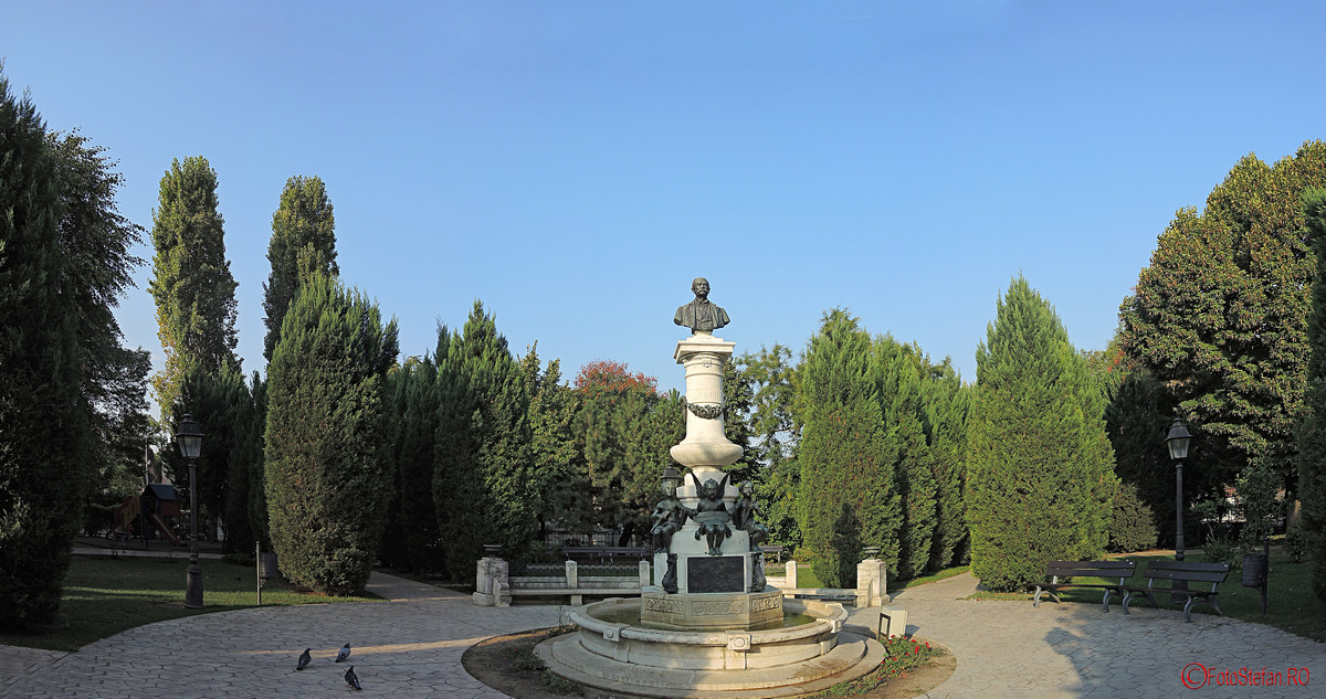 poza panoramica parcul Luigi Cazzavillan Bucuresti