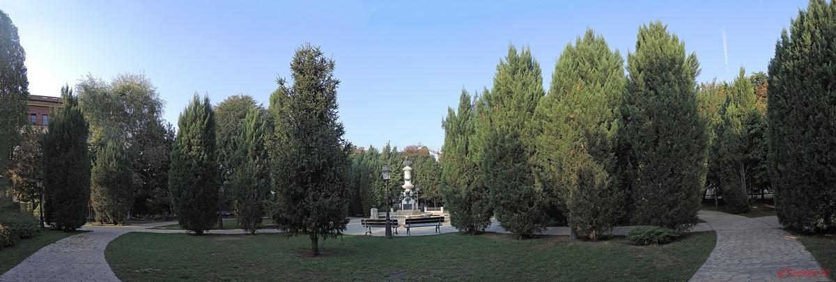 imagine panoramica parcul Luigi Cazzavillan Bucuresti