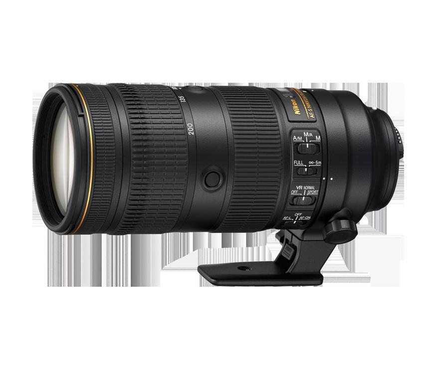 zoom nikon 70-200mm f/2.8E FL ED VR
