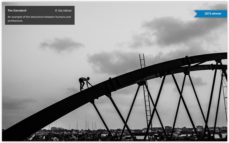 Ata Adnan poza castigatoare concurs foto the art of building 2015 The Daredevil