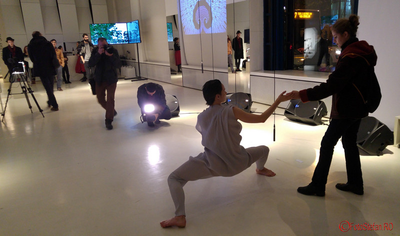 poze Johanna Nuutinen - Corpul Digital - Bucharest Internaţional Dance Film Festival