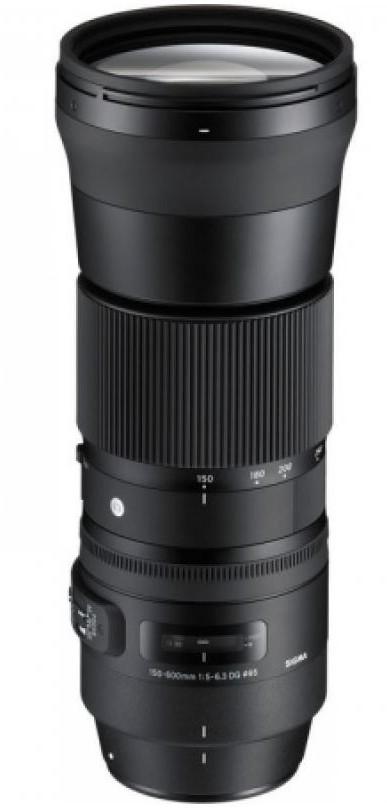 poza teleobiectiv SIGMA 150-600mm F5-6.3 DG OS HSM Contemporary