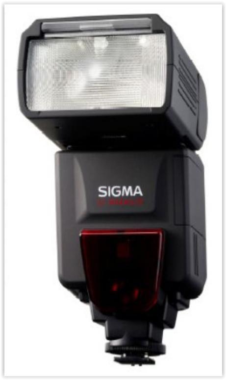 poza blit Sigma EF 610 ST DG Sony