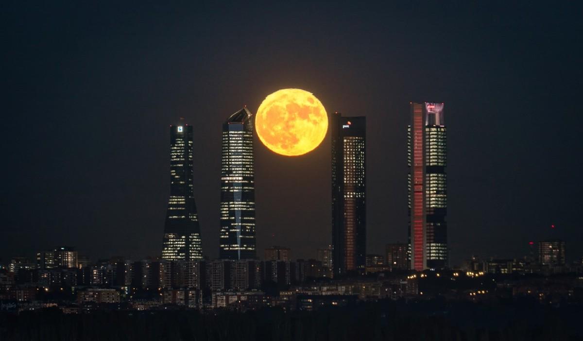foto super luna iberia