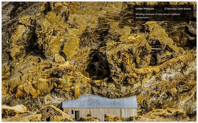 Bernabe Della Mattia fotografie finalista concurs the art of building