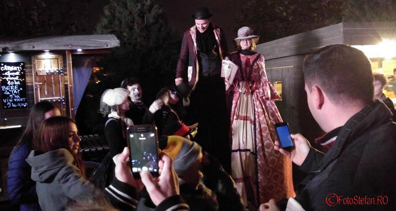 poza actori festivalul Bucurestii lui Caragiale parcul Izvor noiembrie 2016