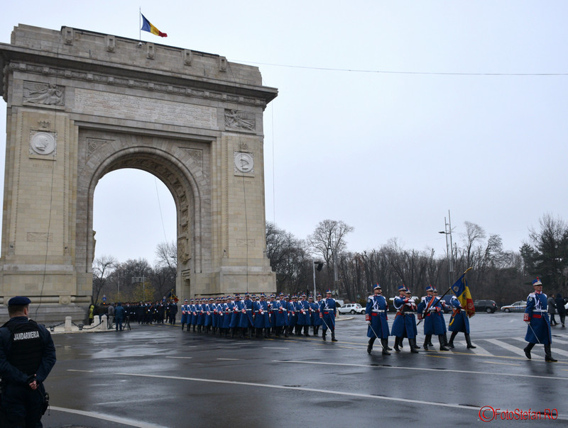 poze Repetitii parada  Ziua Nationala  Bucuresti Arcul de Triumf 2016