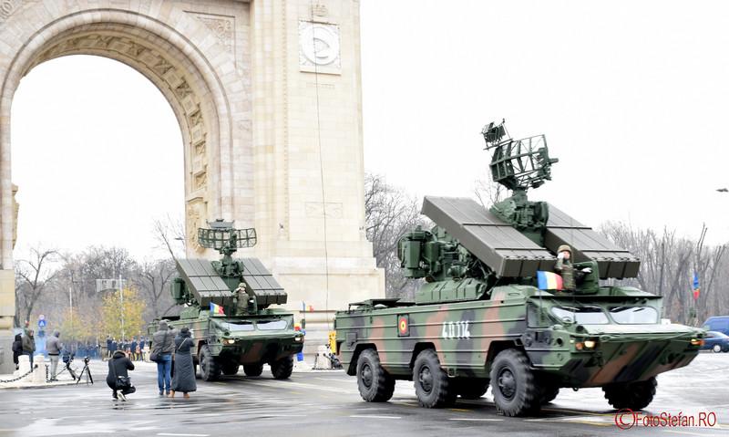 poza tehnica militara Repetitii parada  Ziua Nationala  Bucuresti Arcul de Triumf 2016
