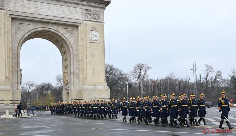poze brigada 30 mihai viteazul repetitii arcul de triumf bucuresti