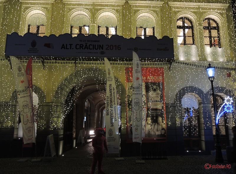poze luminite craciun arcub centrul istoric bucuresti