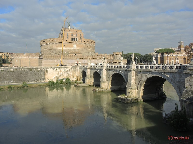 poze Castelul Sant'Angelo din Roma