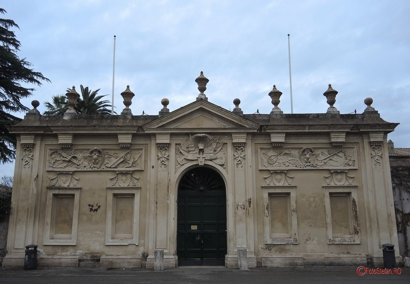 poza vila cavalerilor de malta roma italia