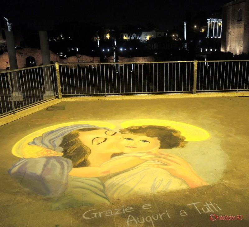poza graffiti forumul roman italia
