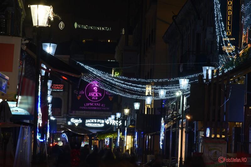 poza luminitele de craciun bucuresti 2016 centrul vechi
