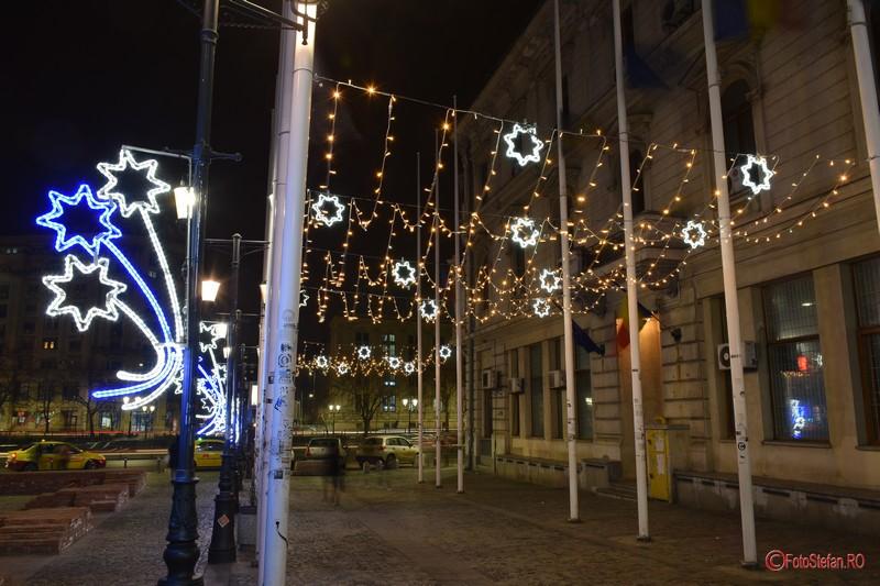poze luminitele de craciun bucuresti 2016