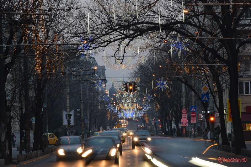 poze fotografii lumini craciun 2016 sarbatori bucuresti