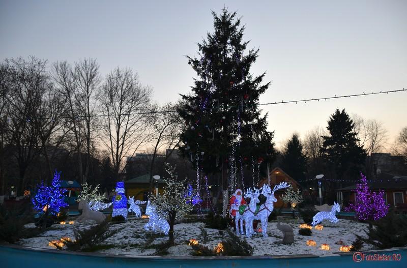 poze luminite craciun 2016 parcul oraselul copiilor bucuresti